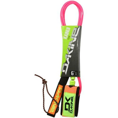 Dakine Kainui Team 6' Leash - Neon