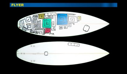 Surf board soul,mod:FLYER  5.8 18 3/4 2 3/8
